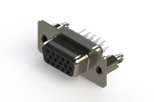 638-015-230-046 - Vertical D-Sub Connector
