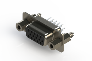 638-015-230-047 - Vertical D-Sub Connector