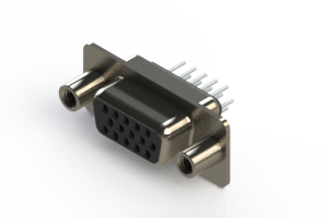 638-015-230-048 - Vertical D-Sub Connector