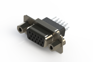 638-015-231-053 - Vertical D-Sub Connector