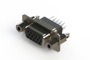 638-015-231-057 - Vertical D-Sub Connector
