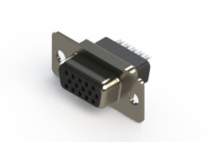 638-015-232-051 - Vertical D-Sub Connector