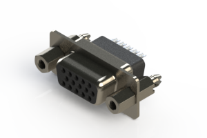 638-015-232-057 - Vertical D-Sub Connector