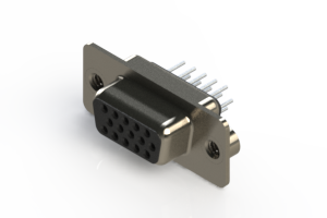 638-015-330-042 - Vertical D-Sub Connector