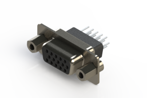 638-015-331-053 - Vertical D-Sub Connector