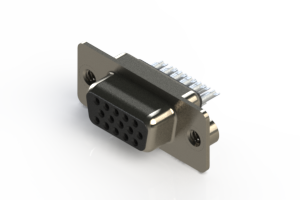 638-015-332-042 - Vertical D-Sub Connector