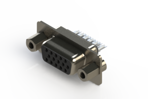 638-015-332-043 - Vertical D-Sub Connector