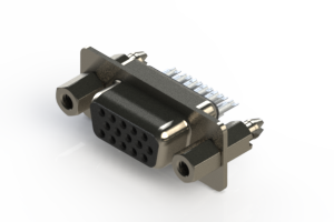 638-015-332-047 - Vertical D-Sub Connector