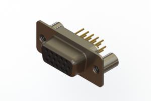 638-M15-230-BN3 - Machined D-Sub Connectors