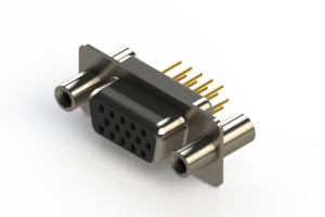 638-M15-230-BN4 - Machined D-Sub Connectors