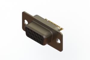 638-M15-232-BN1 - Machined D-Sub Connectors