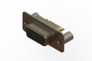 638-M15-232-BN3 - Machined D-Sub Connectors