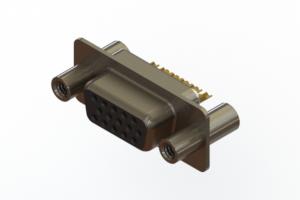 638-M15-232-BN4 - Machined D-Sub Connectors