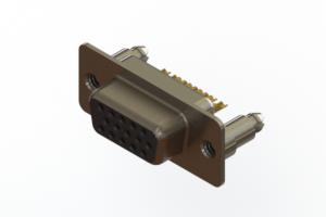638-M15-232-BN5 - Machined D-Sub Connectors