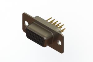 638-M15-330-BN1 - Machined D-Sub Connectors