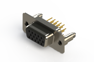 638-M15-330-BN5 - Machined D-Sub Connectors