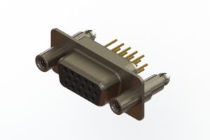 638-M15-330-BN6 - Machined D-Sub Connectors
