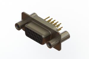 638-M15-330-BT4 - Machined D-Sub Connectors