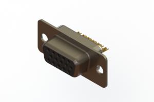 638-M15-332-BN1 - Machined D-Sub Connectors