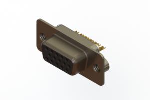 638-M15-332-BN2 - Machined D-Sub Connectors