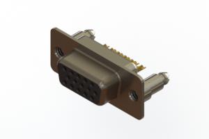 638-M15-332-BN5 - Machined D-Sub Connectors