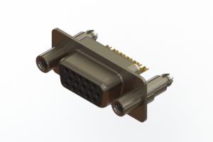 638-M15-332-BN6 - Machined D-Sub Connectors