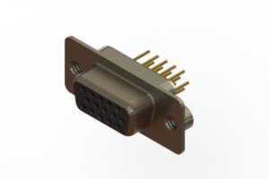 638-M15-630-BN2 - Machined D-Sub Connectors