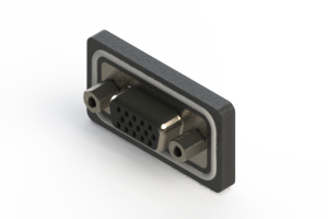 638-W15-321-012 - Waterproof High Density D-Sub Connectors