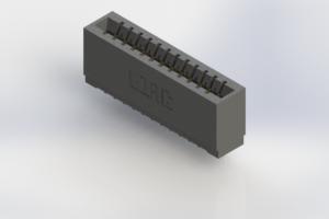 746-012-545-501 - Pressfit Card Edge Connector