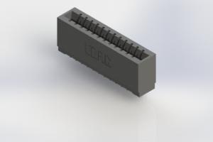 746-012-553-501 - Pressfit Card Edge Connector