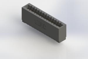 746-013-545-501 - Pressfit Card Edge Connector